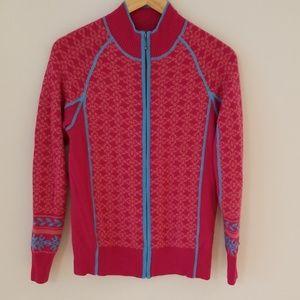 Cabela's Ski zip-up sweater